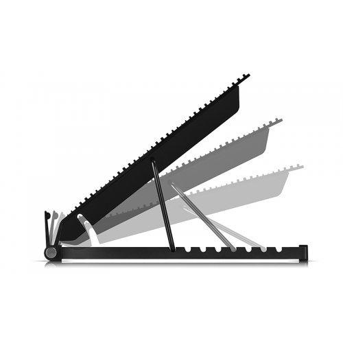 "Стенд за лаптоп DeepCool Охладител за лаптоп Notebook Cooler N9 17"" - aluminium black (снимка 1)"
