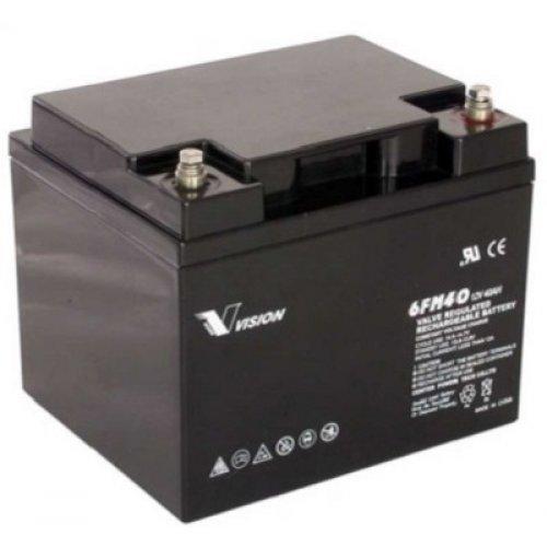 Батерия за UPS Vision 6FM40-X 12V 40Ah F11(M6), UPS тягова акумулаторна батерия (снимка 1)