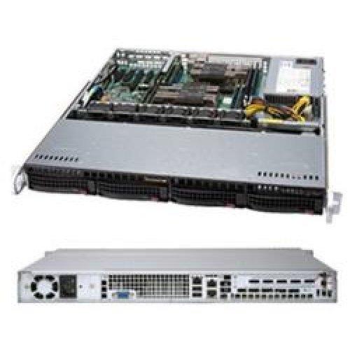 Компютърна кутия Supermicro CSE-813MF2TQC-505CB, 1U RACK (снимка 1)