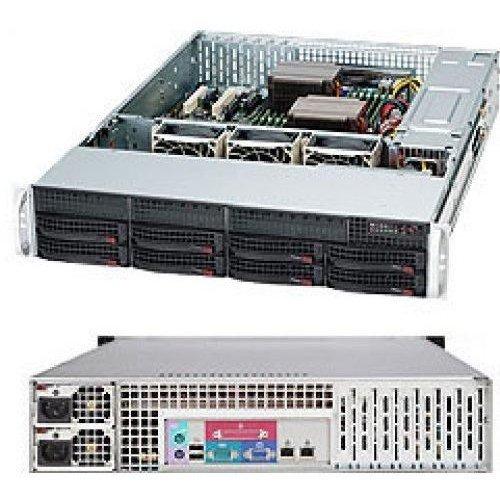 Компютърна кутия Supermicro 2U CSE-825TQC-R740LPB (снимка 1)