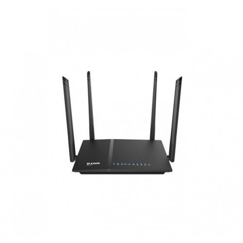 Безжичен рутер D-Link DIR-825 AC1200 Wi-Fi Dual-Band Gigabit (LAN/WAN) Router (снимка 1)
