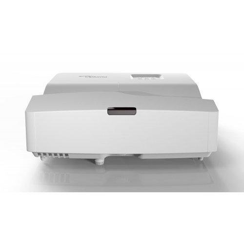 Дигитален проектор Ултра късофокусен мултимедиен проектор Optoma W330UST DLP Projector - Full 3D, White (снимка 1)