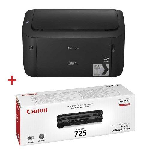 Принтер Canon i-SENSYS LBP6030B + Canon CRG-725 (снимка 1)