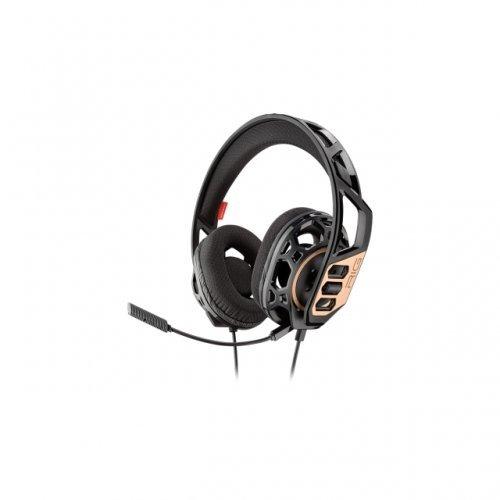 Слушалки Геймърски слушалки Plantronics RIG 300, Микрофон, Черен/Златист (снимка 1)