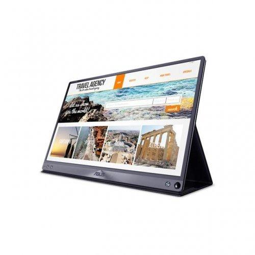 "Монитор ASUS ZenScreen MB16AC 15.6"" FHD (1920x1080), USB Type-C, IPS, Преносим (снимка 1)"