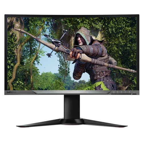 "Монитор LENOVO 27"" Y27G CURVED GAMING (снимка 1)"