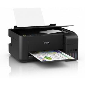 Epson EcoTank L3110 WiFi, C11CG87401, EcoTank ink bottles, USB, black (Принтери)