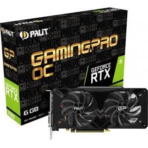 Видео карта nVidia PALIT GeForce RTX 2060 Gaming Pro OC, 6GB GDDR6 (снимка 1)