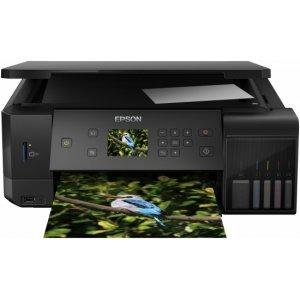 EPSON EcoTank ET-L7160 WiFi MFP, C11CG15402 (Принтери)