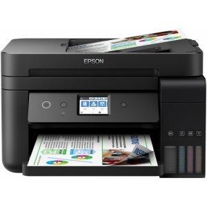EPSON EcoTank ITS ET-L6190 WiFi MFP(Print, scan, copy, fax), C11CG19402 (Принтери)