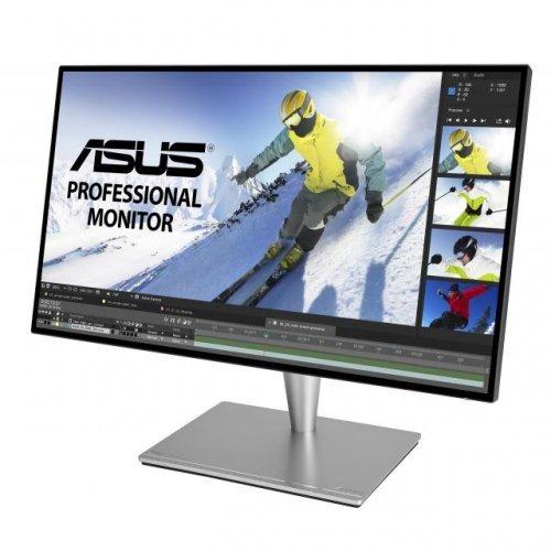 """Монитор ASUS ProArt PA27AC 27"""" Professional Monitor, WQHD (2560x1440), IPS 4 side-frameless, HDR-10, 100% sRGB/Rec.709, △E< 2, Thunderbold 3 USB-C (снимка 1)"""