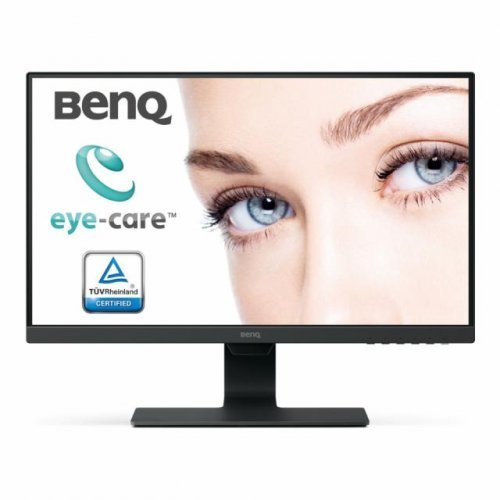 Монитор BenQ GW2480E, IPS, 23.8 inch, Wide, Full HD, D-sub, HDMI, DisplayPort DP, Черен (снимка 1)