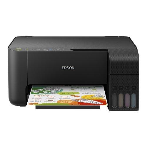 Принтер Epson EcoTank L3150 WiFi MFP, C11CG86405, EcoTank ink bottles, USB, black (снимка 1)