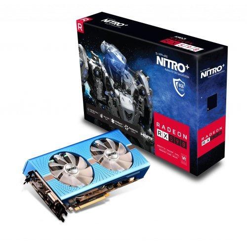 Видео карта AMD Sapphire NITRO+ RADEON RX 590 8G ,8GB GDDR5 (снимка 1)