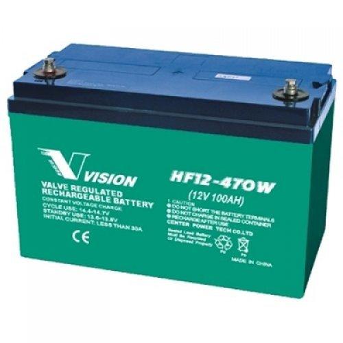 Батерия за UPS Vision HF12-470W-X 12V 100Ah, UPS тягова акумулаторна батерия (снимка 1)