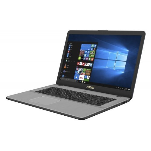 "Лаптоп Asus VivoBook Pro 17 N705FN-GC043, сив, 17.3"" (43.94см.) 1920x1080 (Full HD) без отблясъци, Процесор Intel Core i5-8265U (4x/8x), Видео nVidia GeForce MX150/ 2GB GDDR5, 8GB DDR4 RAM, 1TB HDD диск, без опт. у-во, Endless Linux ОС (снимка 1)"