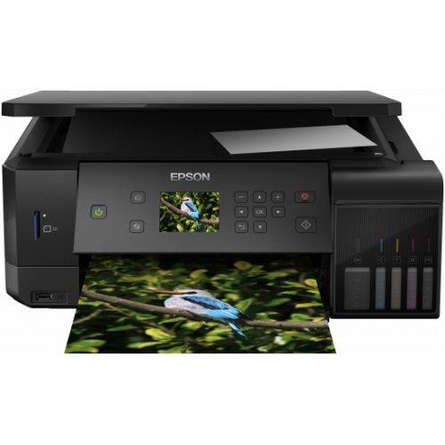 Принтер EPSON EcoTank ET-L7160 WiFi MFP, C11CG15402 (снимка 1)