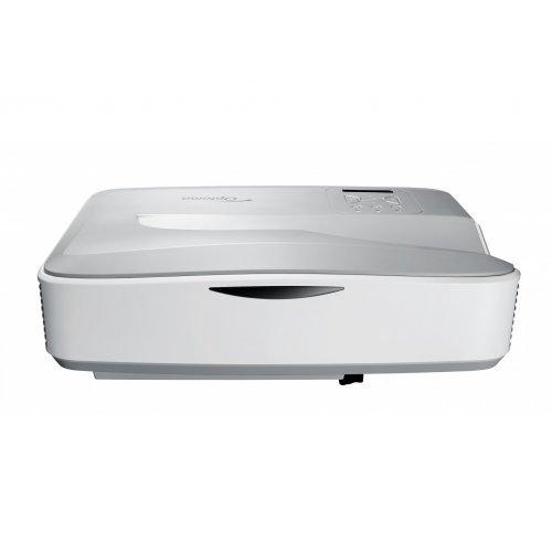 Дигитален проектор Ултра-късофокусен мултимедиен проектор за домашно кино Optoma HZ45UST DLP Projector - Full 3D, White (снимка 1)