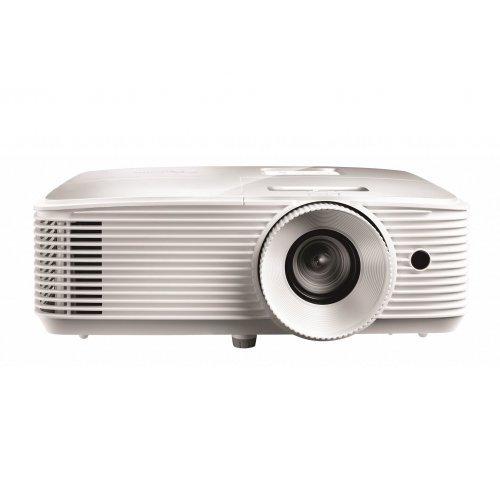 Дигитален проектор Мултимедиен проектор Optoma EH335 Digital DLP Projector - Full 3D, White (снимка 1)