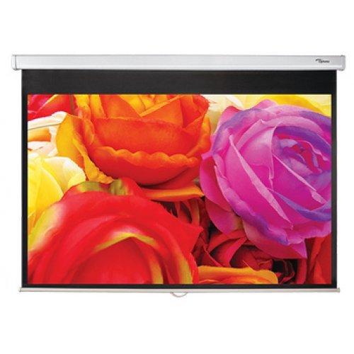 Екран за проектор Ръчен екран Optoma DS-1109PMG+ (снимка 1)
