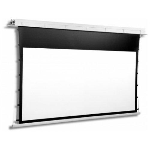 Екран за проектор CONTOUR TENSION 30-17 MW BT Електрически екран с черна рамка и широка черна лента отгоре (снимка 1)