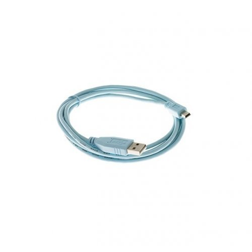 Кабел Cisco Console Cable 6ft with USB Type A and mini-B (снимка 1)