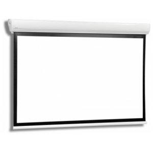 Екран за проектор STRATUS 2 30-23 MW BB Електрически екран с черна рамка (снимка 1)