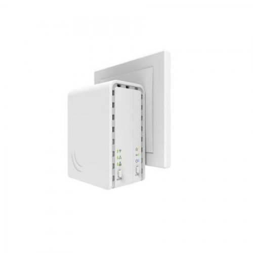 Powerline адаптер MIKROTIK PWR-Line AP PL7411-2nD (снимка 1)