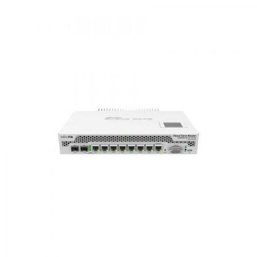 Жичен рутер Mikrotik CCR1009-7G-1C-1S+PC Cloud Core Router (снимка 1)