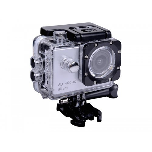 Екшън камера Sport HD camera TRACER eXplore SJ 400 Silver TRAKAM45391, waterproof case , accessories (снимка 1)