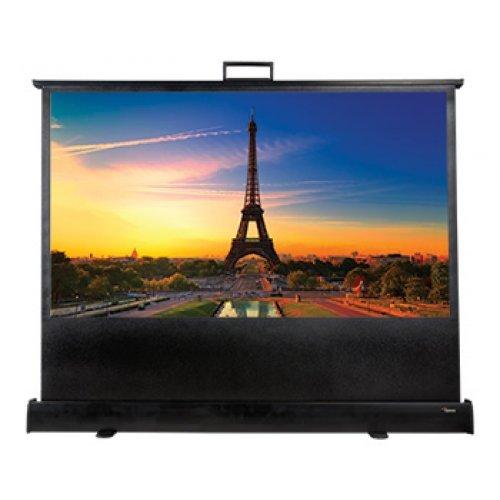 Екран за проектор Ръчен преносим екран Optoma DP-9046MWL (снимка 1)