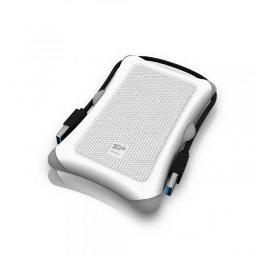 """Външен твърд диск SILICON POWER Armor A30 , 2.5"""", 1TB, USB3.1, Бял (снимка 1)"""