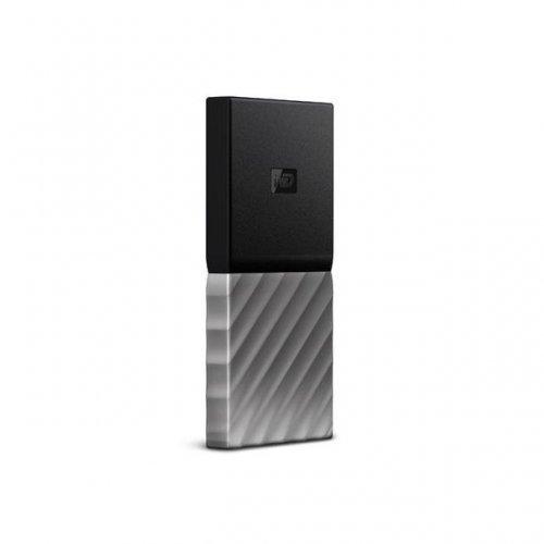 Външен SSD Western Digital 256GB, My Passport, USB-C, адаптер USB-C към USB-A (снимка 1)