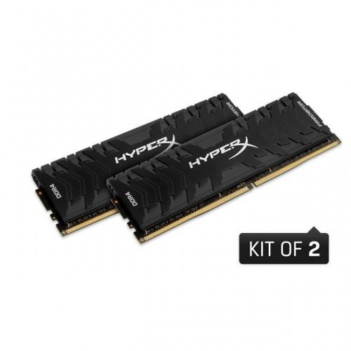 RAM памет DDR4 PC KIT 32GB 2x16GB 3200Mhz, Kingston HyperX Predator, CL16, HX432C16PB3K2/32 (снимка 1)