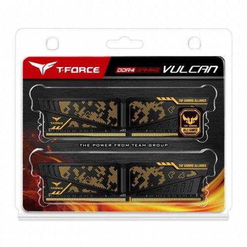 RAM памет DDR4 Kit 16GB 2x8GB 3200MHz, Team Group T-Force Vulcan TUF, CL16-18-18-38, 1.35V (снимка 1)