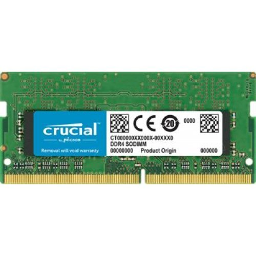 RAM памет DDR3L 4GB SODIMM, PC3-12800, 1600MHz, Crucial, CT51264BF160BJ, CL11 (снимка 1)