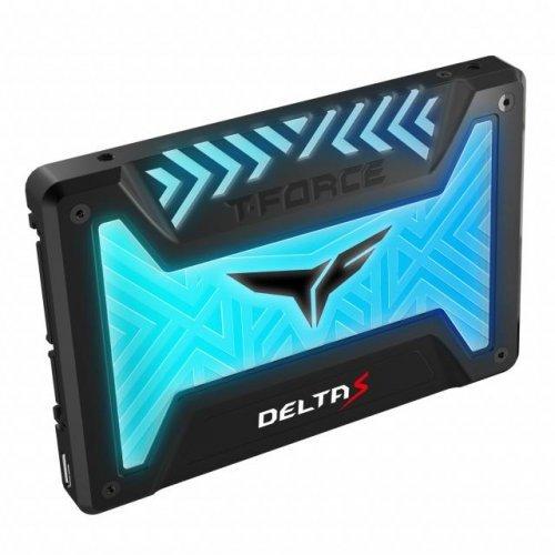 SSD Team Group 500GB, T-Force Delta S, RGB, Black (снимка 1)