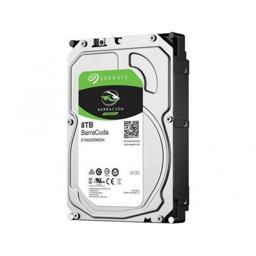 Твърд диск SEAGATE BarraCuda, 8TB, ST8000DM004, 3 год. гаран-я, 256MB, 7200 rpm, SATA 3 (снимка 1)