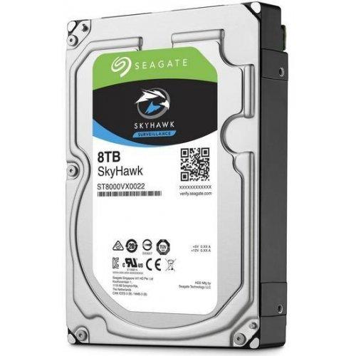 Твърд диск Seagate SkyHawk 8TB, ST8000VX0022, 2 год. гаран-я, 256MB Cache, SATA 6.0Gb/s (снимка 1)