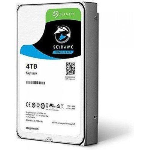 Твърд диск SEAGATE SkyHawk, 4TB, ST4000VX007, 2 год. гаран-я, 64MB Cache, SATA 6.0Gb/s (снимка 1)