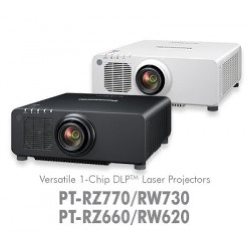 Дигитален проектор Мултимедиен DLP проектор Panasonic PT-RZ770LWEJ/LBEJ (снимка 1)