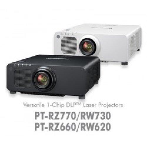 Дигитален проектор Мултимедиен DLP проектор Panasonic PT-RZ770WEJ/BEJ (снимка 1)