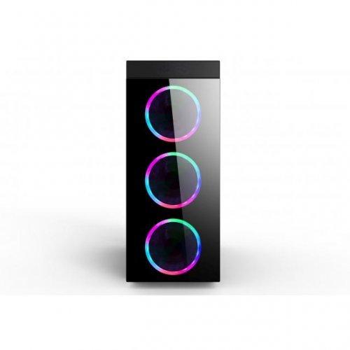 Компютърна кутия Estillo 8872 RGB Gaming ATX USB 3.0 (снимка 1)