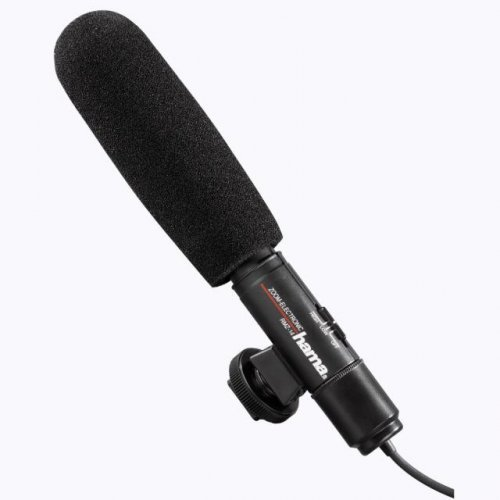 Микрофон HAMA RMZ-14, за видеокамери, 3.5мм (снимка 1)