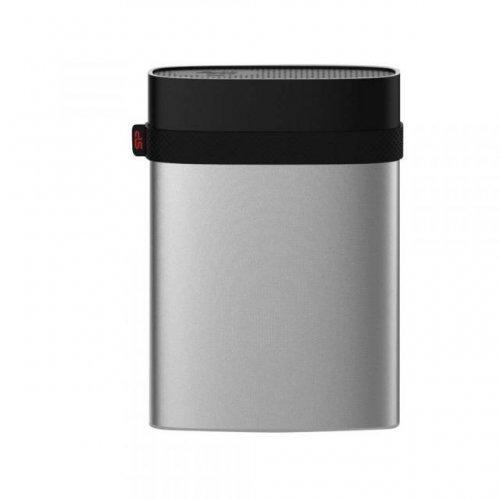 "Външен твърд диск SILICON POWER Armor A85, 2.5"", 4TB, USB3.1, Водоустойчив, Сребрист (снимка 1)"
