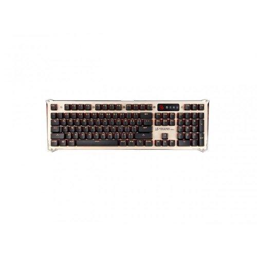 Клавиатура A4Tech Bloody B840, Gaming Keyboard, Full LK Optical, Blue Switch, USB, Silver/Black (снимка 1)