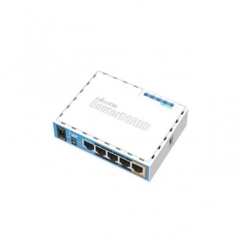 Access Point MiKrotik HAP RB951UI-2ND, 5 x 10/100 Mbps, PoE, Access Point, Бял (снимка 1)