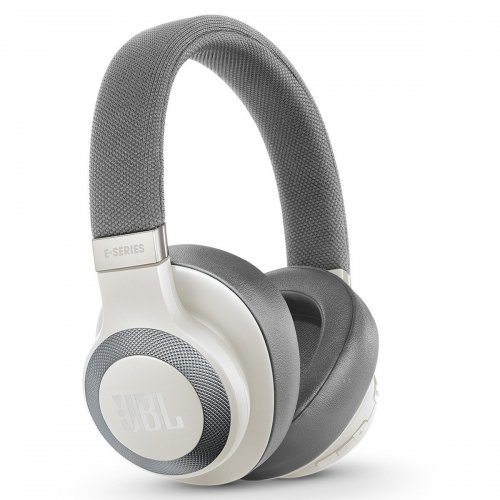 Слушалки Wireless over-ear headphones JBL E65BTNC, Noise-cancelling, White (снимка 1)