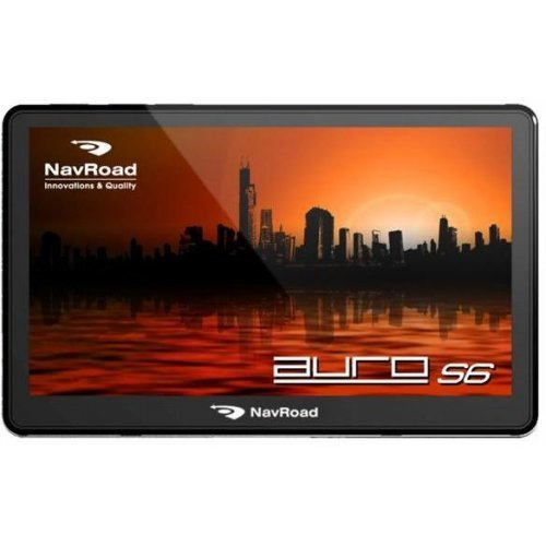 "NAVROAD Auro S6 GPS/Glonass навигационна система, 5"", Win CE, FM, Bluetooth,Navigator Free (снимка 1)"
