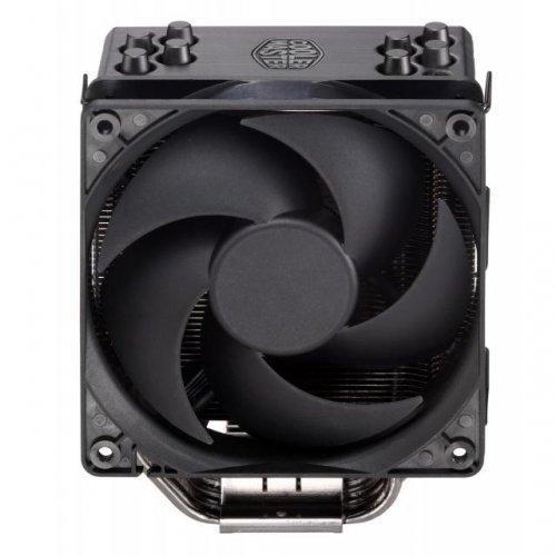 Въздушно охлаждане на процесор Охладител за процесор Cooler Master Hyper 212 Black Edition, AMD/INTEL (снимка 1)